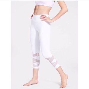 Athleta White Pure Mantra Leggings